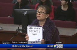Lynn Wheat announces that she has filed to run for Elk Grove City Council District 3.