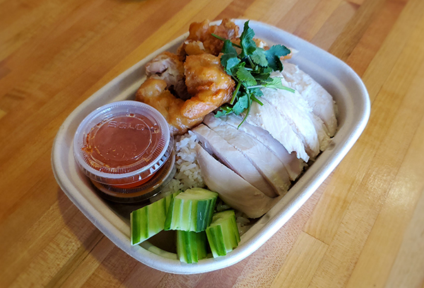 Gai 'N Rice Serves Up Delicious Chicken Rice Plate