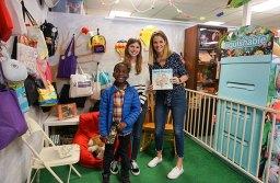 Illustrator Audrey Sherlock, Author DeAnna Gallardo, & DeAnna's son Wadlay whose adoption the book is based on