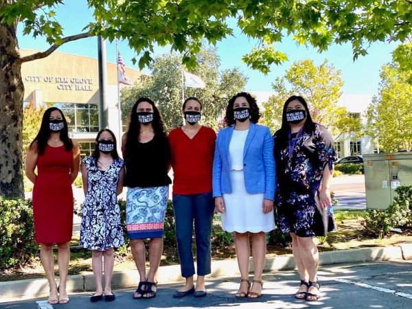 """Women Of Elk Grove Say """"We Will Not Be Silenced"""""""