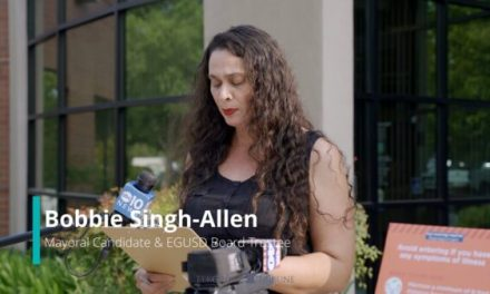 Mayoral Candidate Bobbie Singh-Allen Receives Threats & Holds Press Conference With Assemblymember Jim Cooper