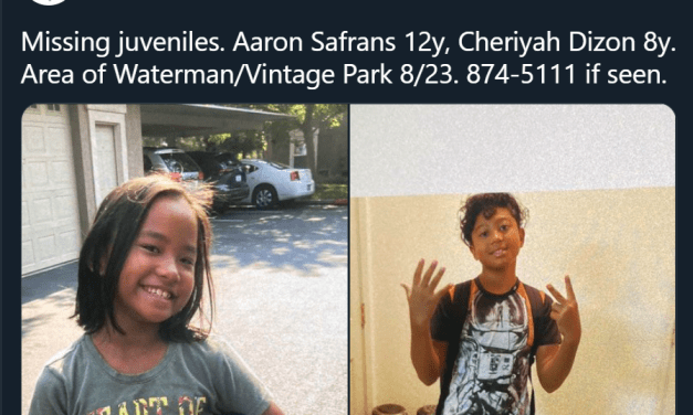2 Children Reported Missing In South Sacramento