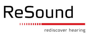 ReSound logo: rediscover hearing