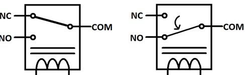 Hvordan fungerer et relé? relayNONC
