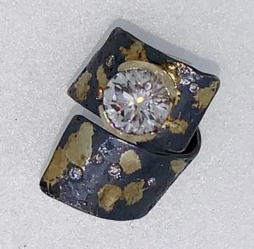 Custom 3 carat diamond ring, heirloom diamond.