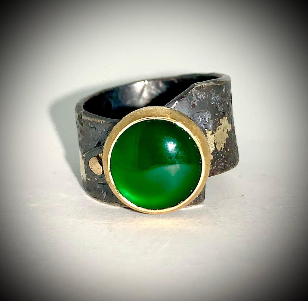 Emerald Green Chalcedony
