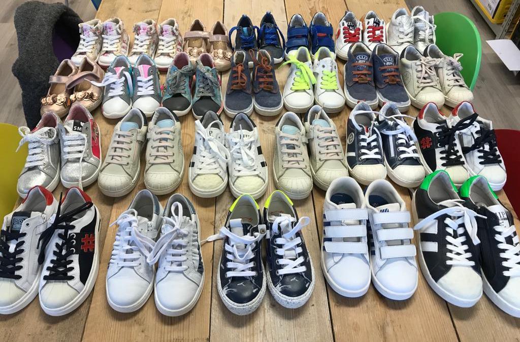 Wel liefst 126 paar schoenen!
