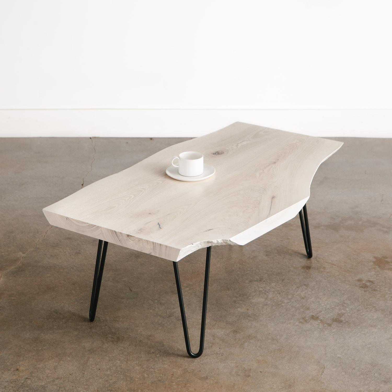 whitewashed ash coffee table no 235
