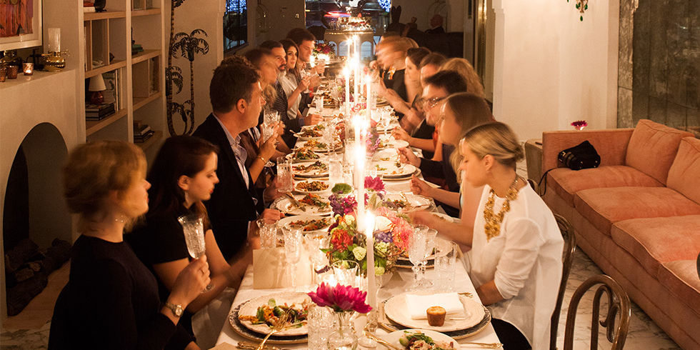 Irene Neuwirth Throws A West Hollywood Dinner Party