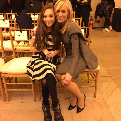 I got to meet Transparent star Judith Light at the Zac Posen show. We're both ELLE.com girls! And, for the record, she's still the boss.