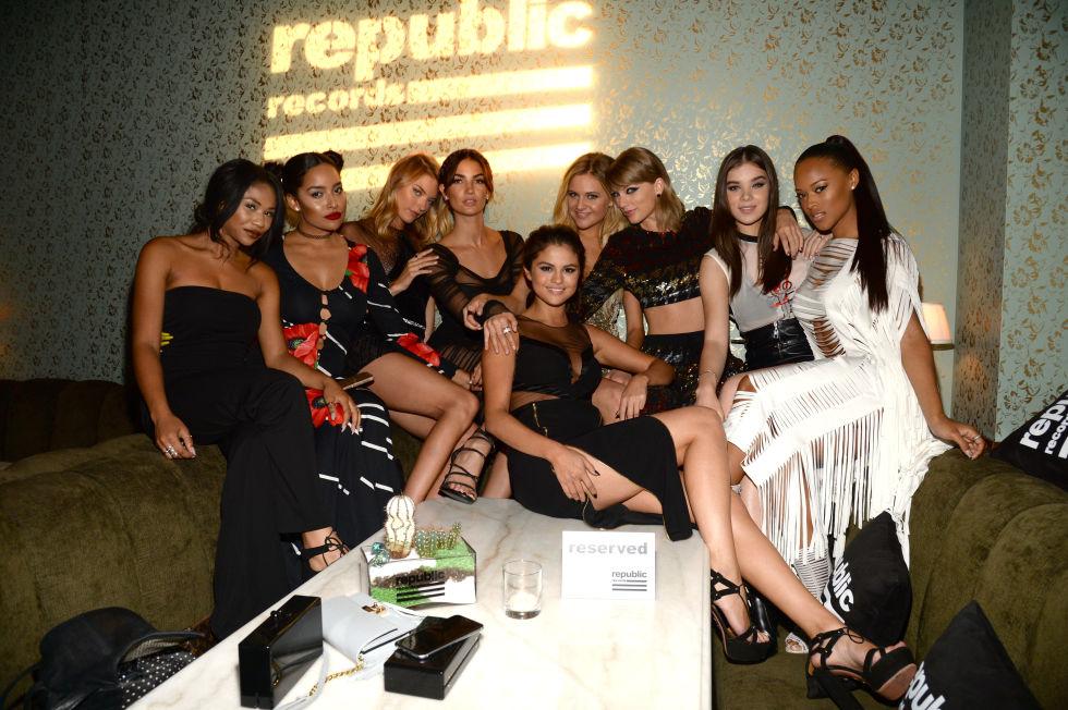 At the Republic Records 2015 VMA after party at Ysabel restaurant.