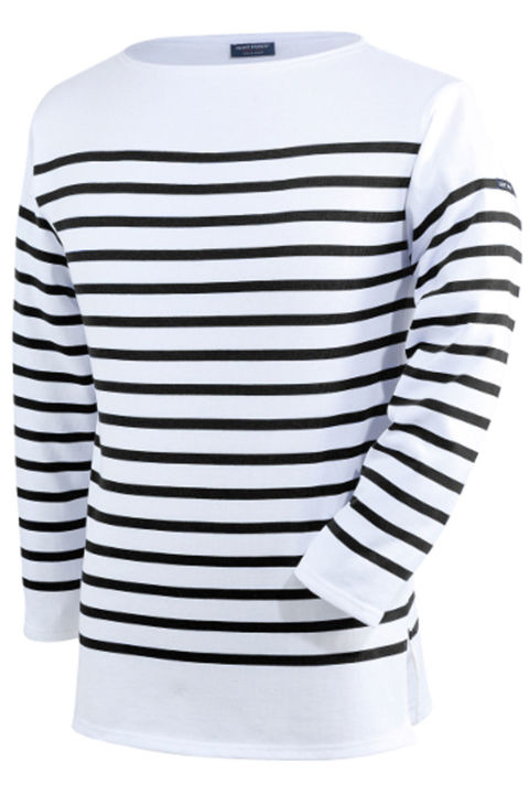 There's a reason why this classic striped shirt has been worn by every intellectual, actor, and artist of the 20th century. This nautical-inspired top will become a mainstay in your closet. Seriously, you'll have to control yourself from wearing it every day. Saint James Naval II, $139; saintjamesboutique.com