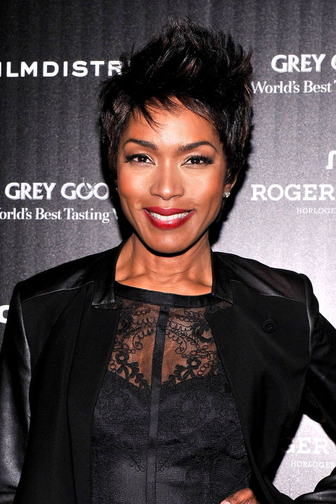 Angela Bassett is known for embodying badass women, so what's more badass than a short and choppy cut?