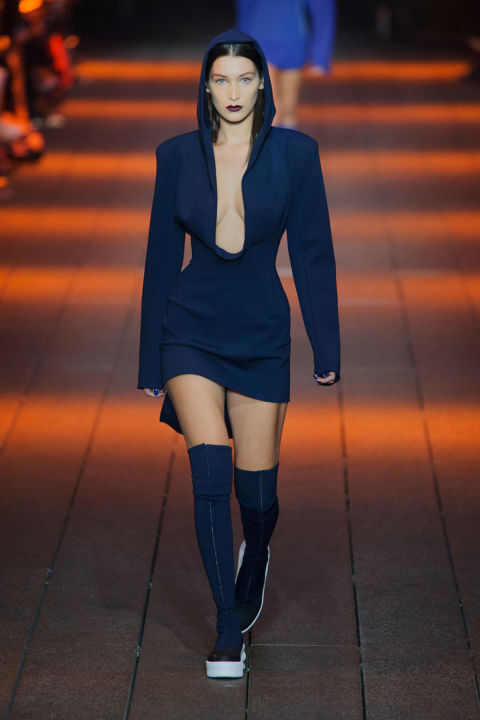 Image result for blue for 2017 runway