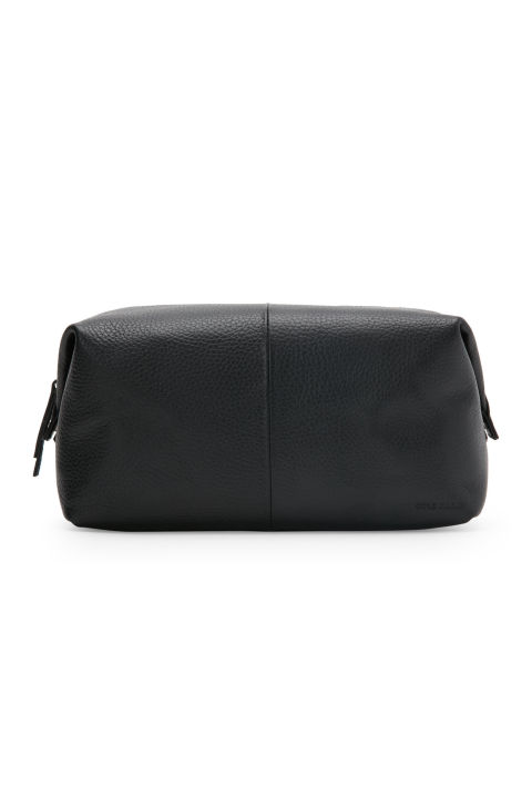 Stuffing full-size shampoo bottles in a used plastic bag is never chic. Upgrade his lifestyle with a simple but elegant dopp kit like this one by Cole Haan. Cole Haan Pebbled Faux Leather Dopp Kit, $40; c21.com