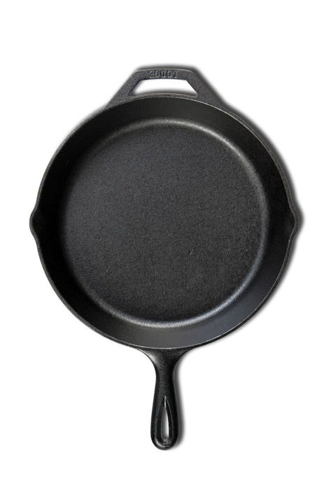 Because nothing cooks a steak indoors quite like a quality cast iron skillet.  Lodge Pre-Seasoned Cast Iron Skillet, $22; amazon.com