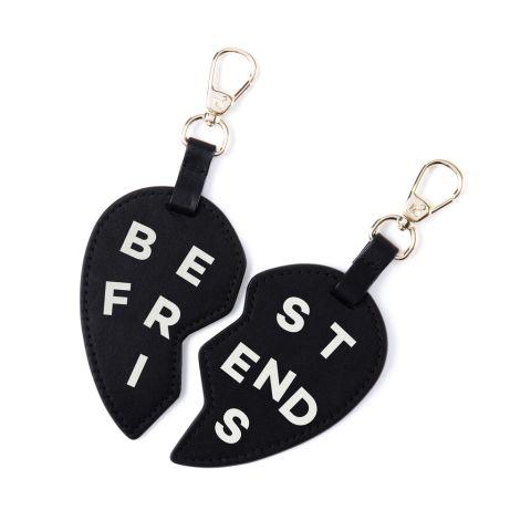 Pop & Suki BFF Heart Keychains, $45; popandsuki.com