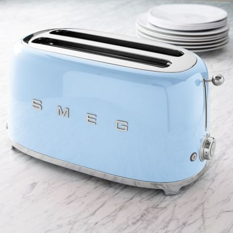 SMEG 4-Slice Toaster, $200; westelm.com