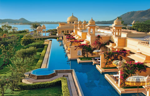 Situated in the rolling hills of northwest India, Udaipur is easily one of India's most stunning cities. Here, marble palaces overlook the city's five lakes, while elaborate courtyards and impeccably manicured gardens only add to the magic and splendor.