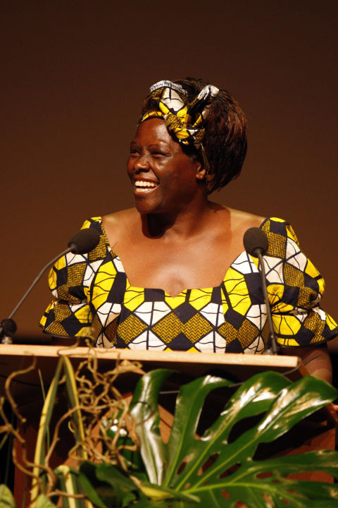 Campaigned for the environmentWangari Maathai was a Kenyan-born activist who founded the Green Belt Movement, an environmental organization focused on the planting of trees, conservation and women's rights. Maathai, who died in 2011, became the first African woman to win the Nobel Peace Prize in 2004 for her contribution to sustainability and peace. She worked tirelessly throughout her life to encourage countries in Africa to plant trees and build plant nurseries because they could help to combat deforestation, hunger and water crises.