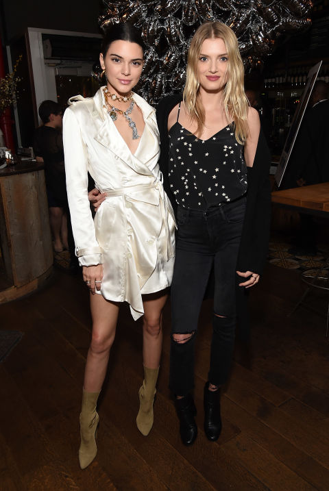 With Lily Donaldson atthe trailer viewing of Valerian and The City of a Thousand Planets in Los Angeles.