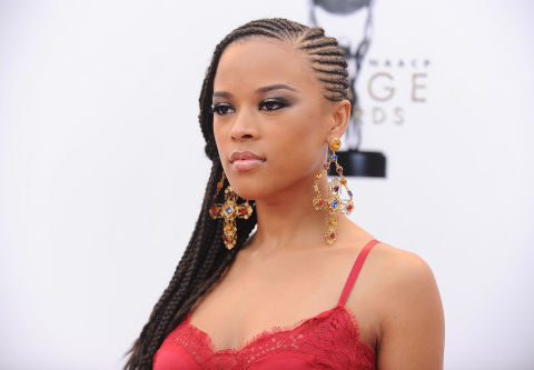 "We love traditional cornrows, but there's something a bit sexier about side cornrows. ""One great way to extend the life of braids is to get touch ups on the braids every three weeks,"" explains celebrity curly textured expert and author of ""Textured Tresses,"" Diane Da Costa. ""This will keep your braids looking fresh and extend the life of the style."""