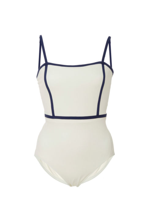 Solid & Striped Lexi Square Neck One Piece, $160; modaoperandi.com