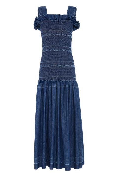 Stella McCartney Anija Denim Dress, $468;stellamccartney.com