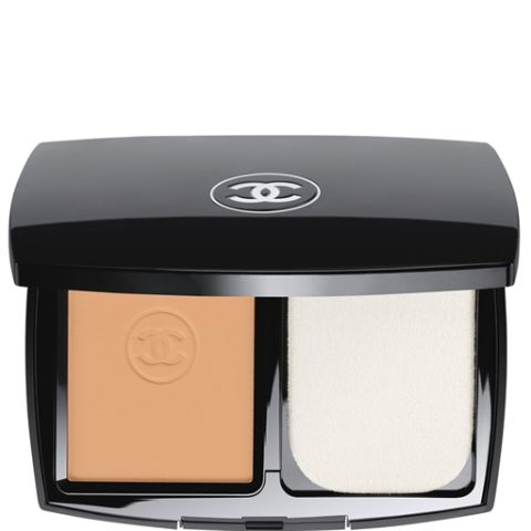 I find that liquid foundations tend to melt right off my skin in the summer heat. Solid, powder foundations like this one are lifesavers. You can layer it on for full-coverage that still feels lightweight and in a pinchlater, tap italong justyour T-Zone and chin.$60; chanel.com