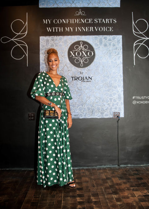 Amanda Seales at XOXO Trojan panel