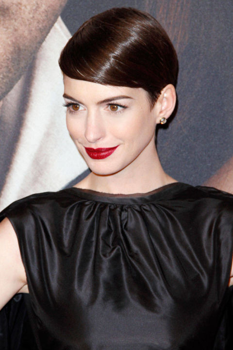 As she shed her hair for playing the role of grisette Fantine in Les Misérables, Hathaway admitted she shed tears as well. But, alas, all that woe was for naught. After all, she took home the Oscar for Best Supporting Actress for her part in the film and soon became a force to be reckoned with on the red carpet, as well.