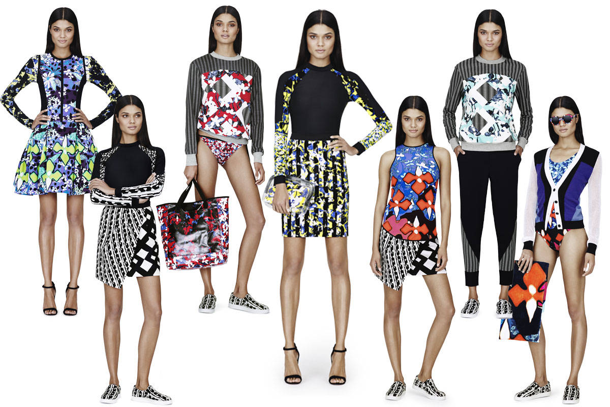 Peter Pilotto For Target Look Book- Peter Pilotto For