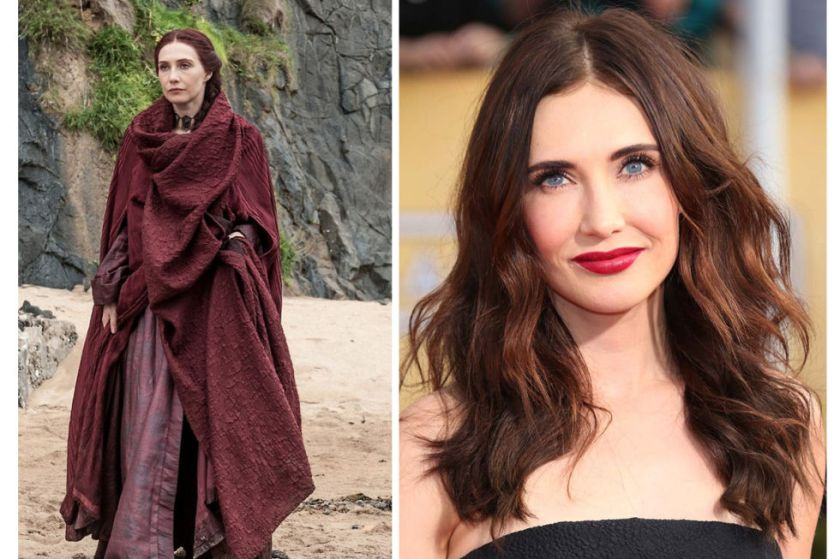 Transformation: 8, because if Melisandre were THIS gorgeous on the show, it would be too distracting.