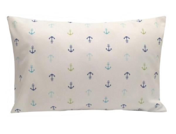 Anchor Toddler or Traveler Pillowcase