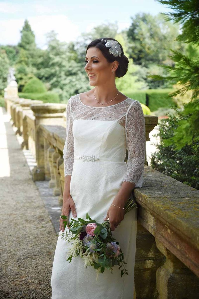 column-wedding-dress-style