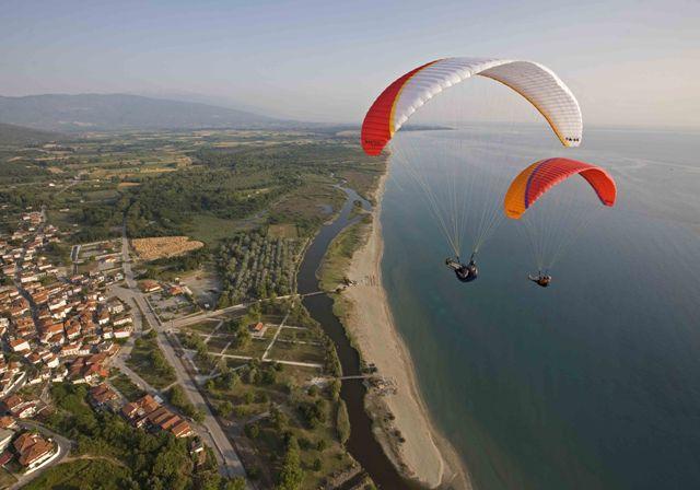 Paragliding Center Olympic Wings, Neos Panteleimonas, Pieria