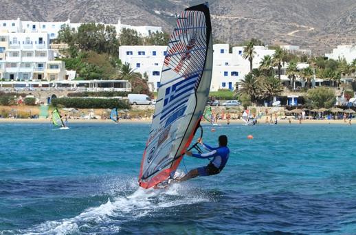 Windsurfing - kitesurfing