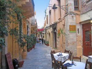 The old town Chania