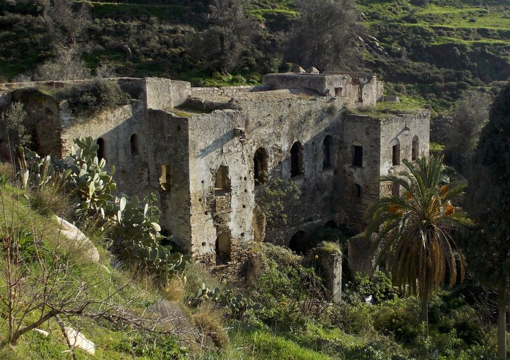 Kalamitsia Monastery, Naxos