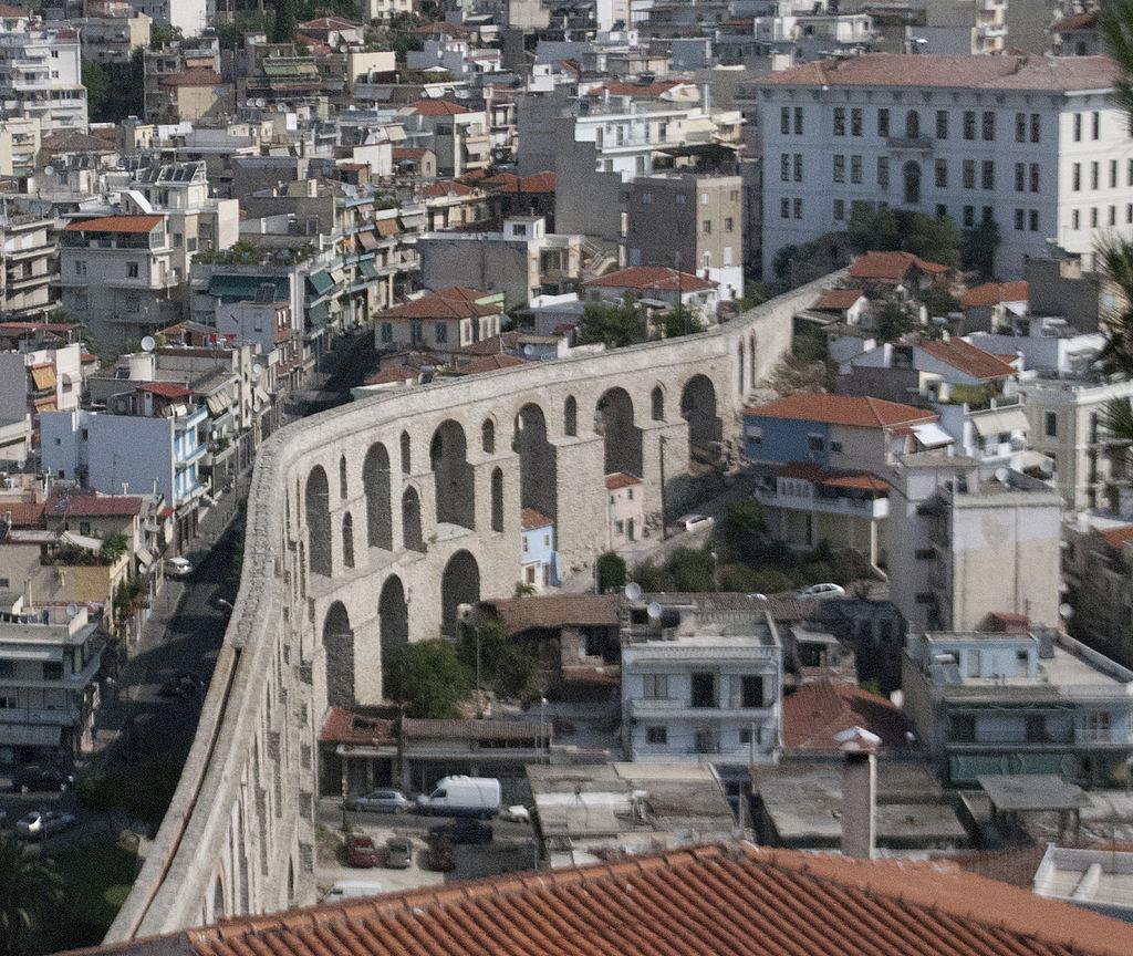 Medieval aqueduct, Kavala