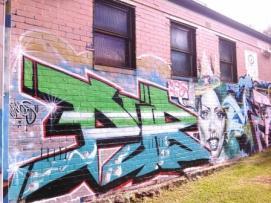 street art - Camperdown Memorial Rest Park, Newtown