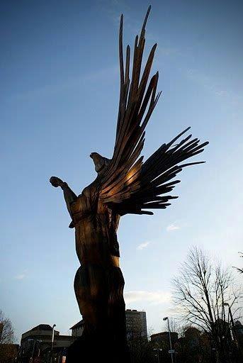 Pegasus Carving