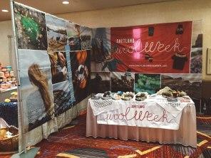Shetland Wool Week stand