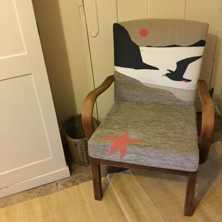Portfolio: Seagull & Seascape Chair