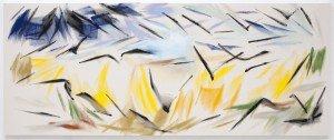 Korenveld met kraaien op schilderles (naar Robert Zandvliet, naar Van Gogh)