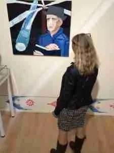 Gerard Reve muze van Emo Verkerk