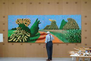 Hockney en Van Gogh samen