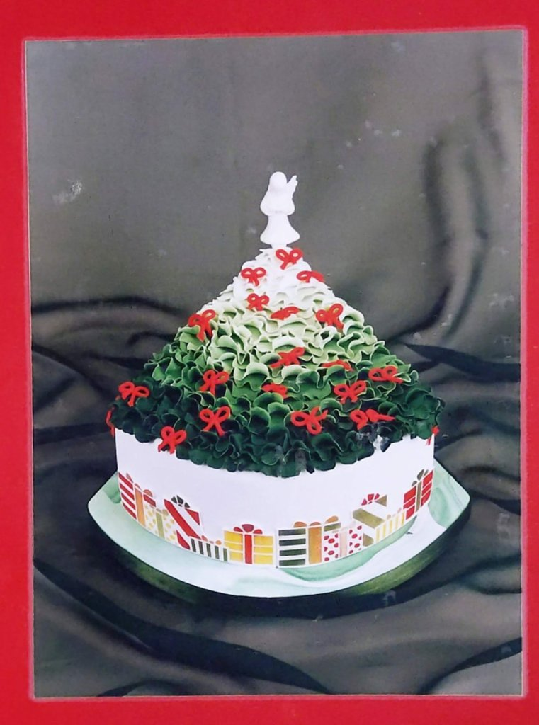 Frilled Christmas Tree