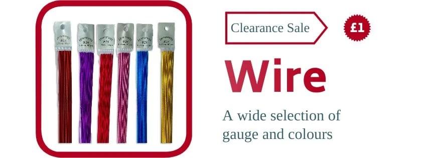 Florist Wire Clearance Sale