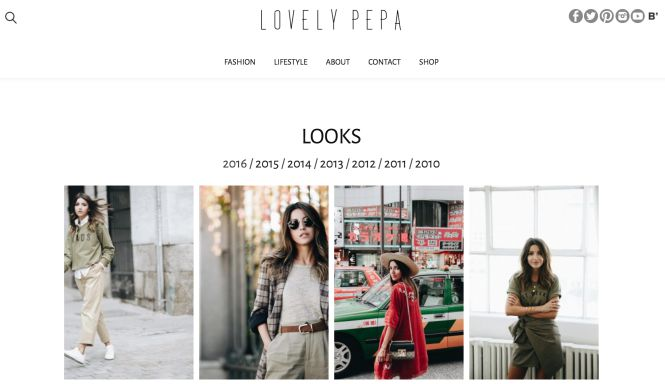Lovely Pepa blog de moda